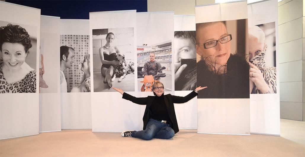 Fotoausstellung Neun Frauen und Ich